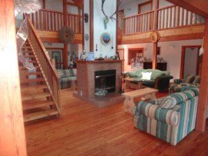 alpine main lodge fireplace