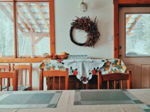 alpine kitchen area